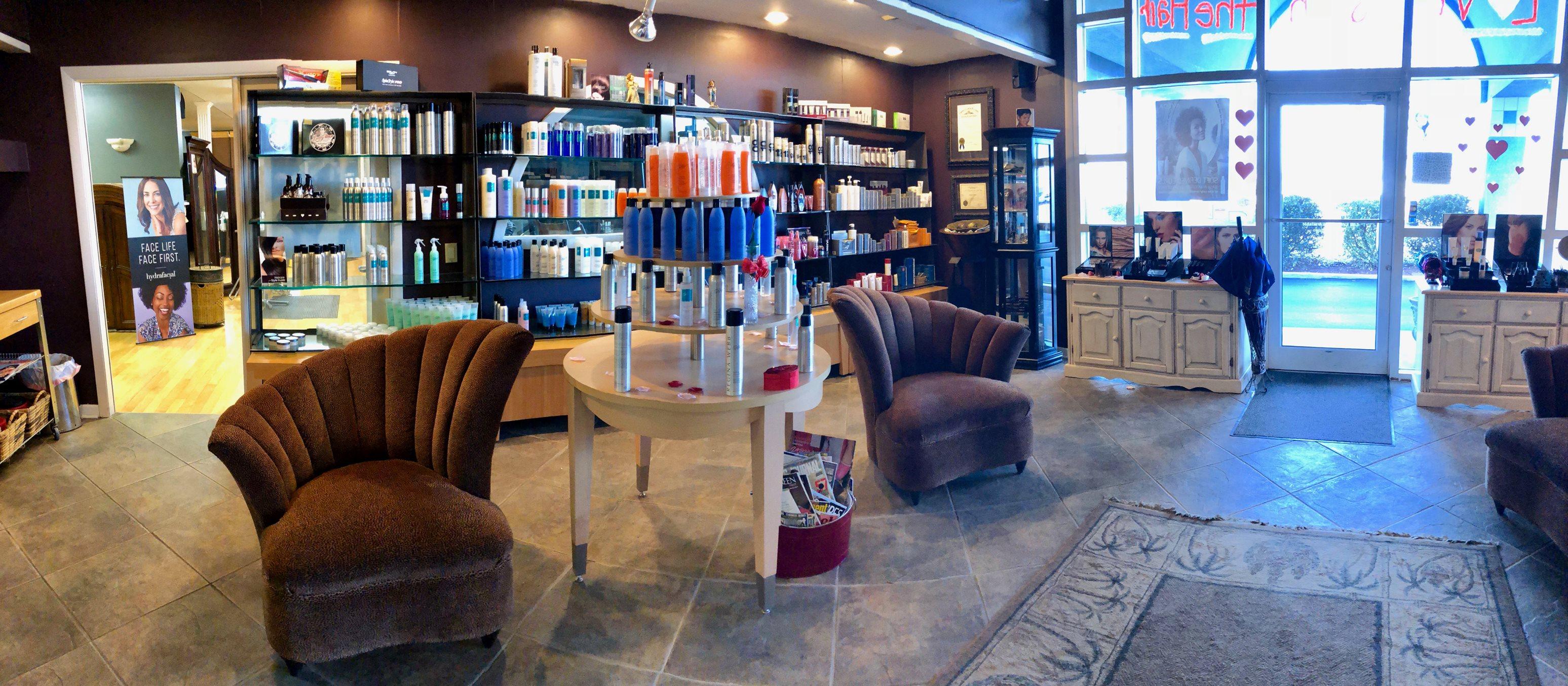 regina webb interior salon spa bowling green